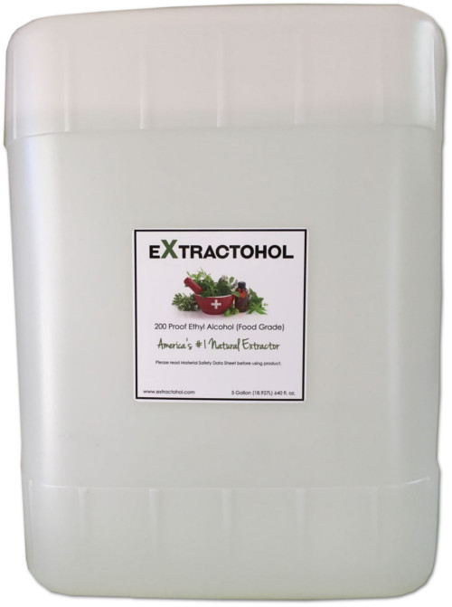 5Gal 200 Proof Food Grade Ethyl Alcohol - Extractohol