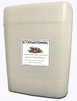 Extractohol 5Gal 190 Proof Certified Natural Organic Cane Alcohol